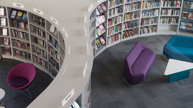 Managing a successful library design and furnishing project