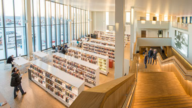 Stormen library in Bodø, Norway wins the 2018 award